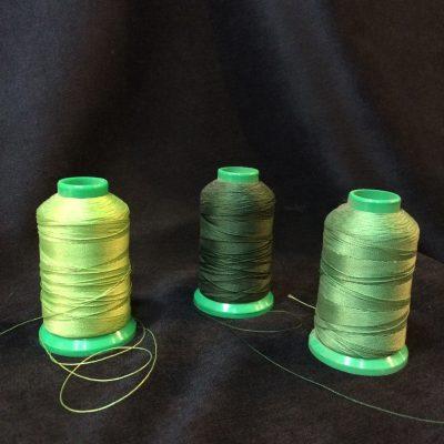 Fil à coudre Onyx 40 teintes Vert