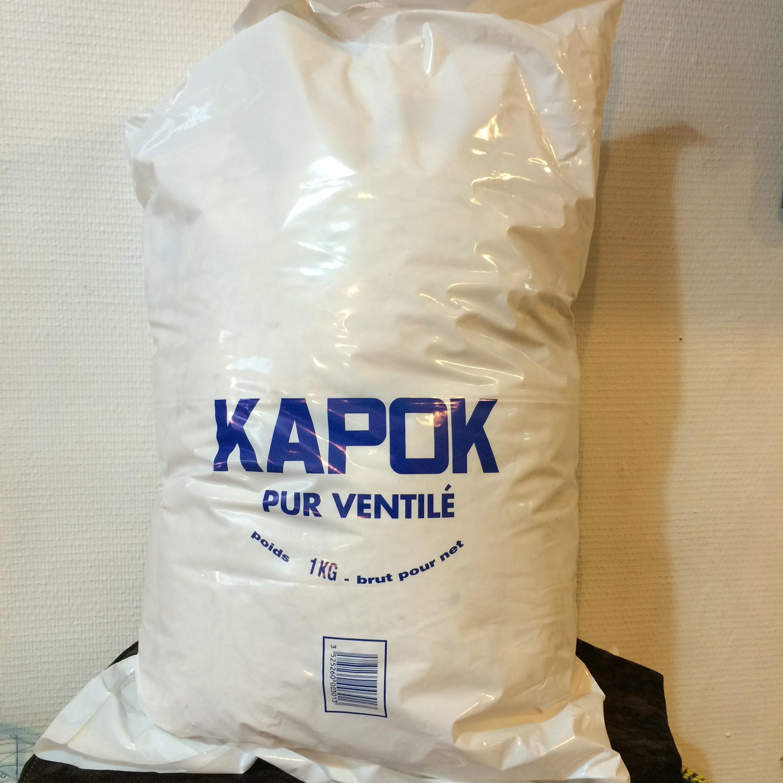 KAPOK, fibres végétales, sac 1Kg.