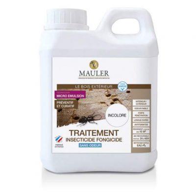 Traitement insecticide et fongicide MAULER pour bois intérieur et extérieur