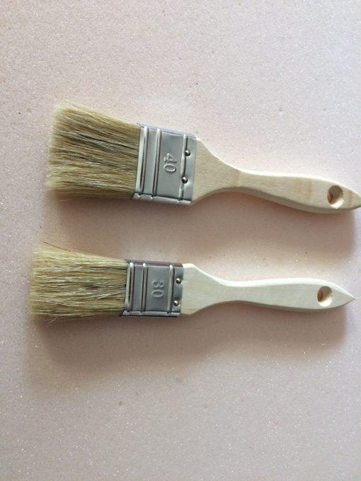 pinceau soie