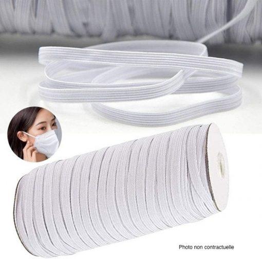 élastique plate